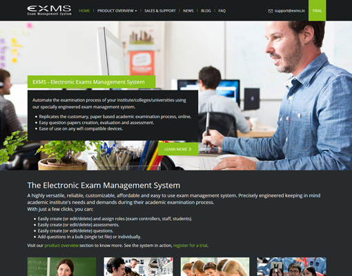 Electronic Exam Management System