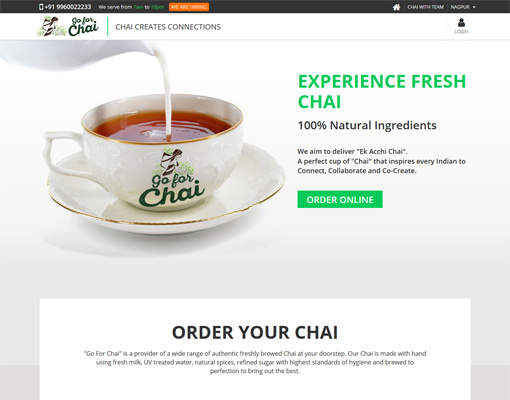 Go for Chai